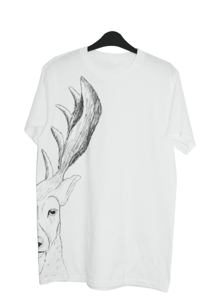 humanos stag t shirt